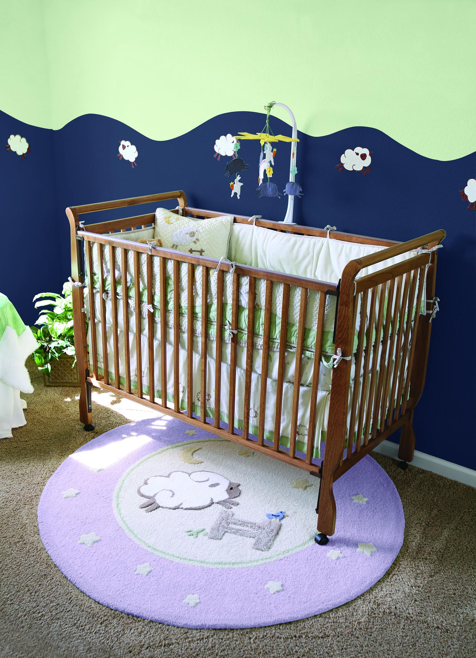 Trucos de pintura en habitaciones infantiles