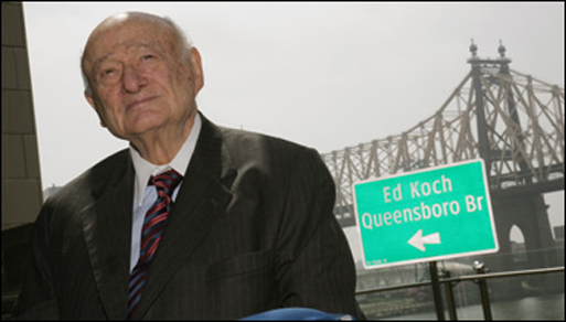 Bill Clinton despide a ex alcalde Ed Koch