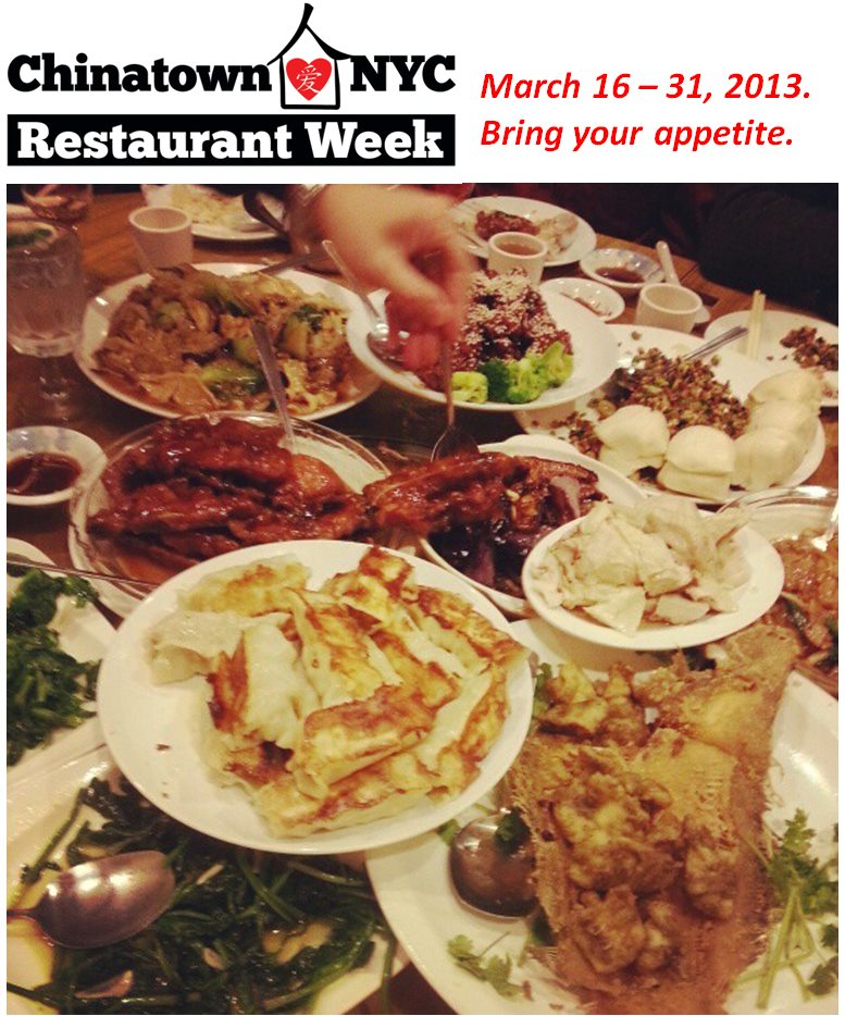 Festival de comida en Chinatown