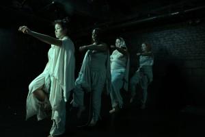 Veronica Tierra, Laura Riveros, Ibeth Massari, Ana Guerrero. Foto Giovanni Rufino
