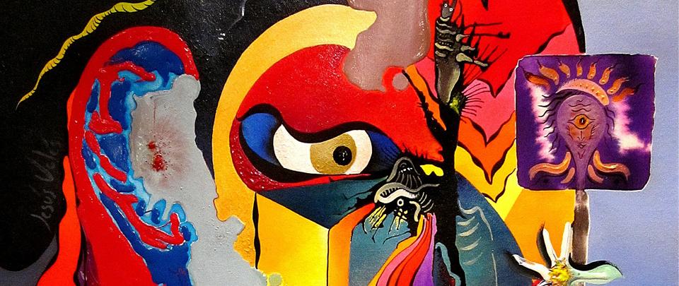 Dos artistas en la galería Agora