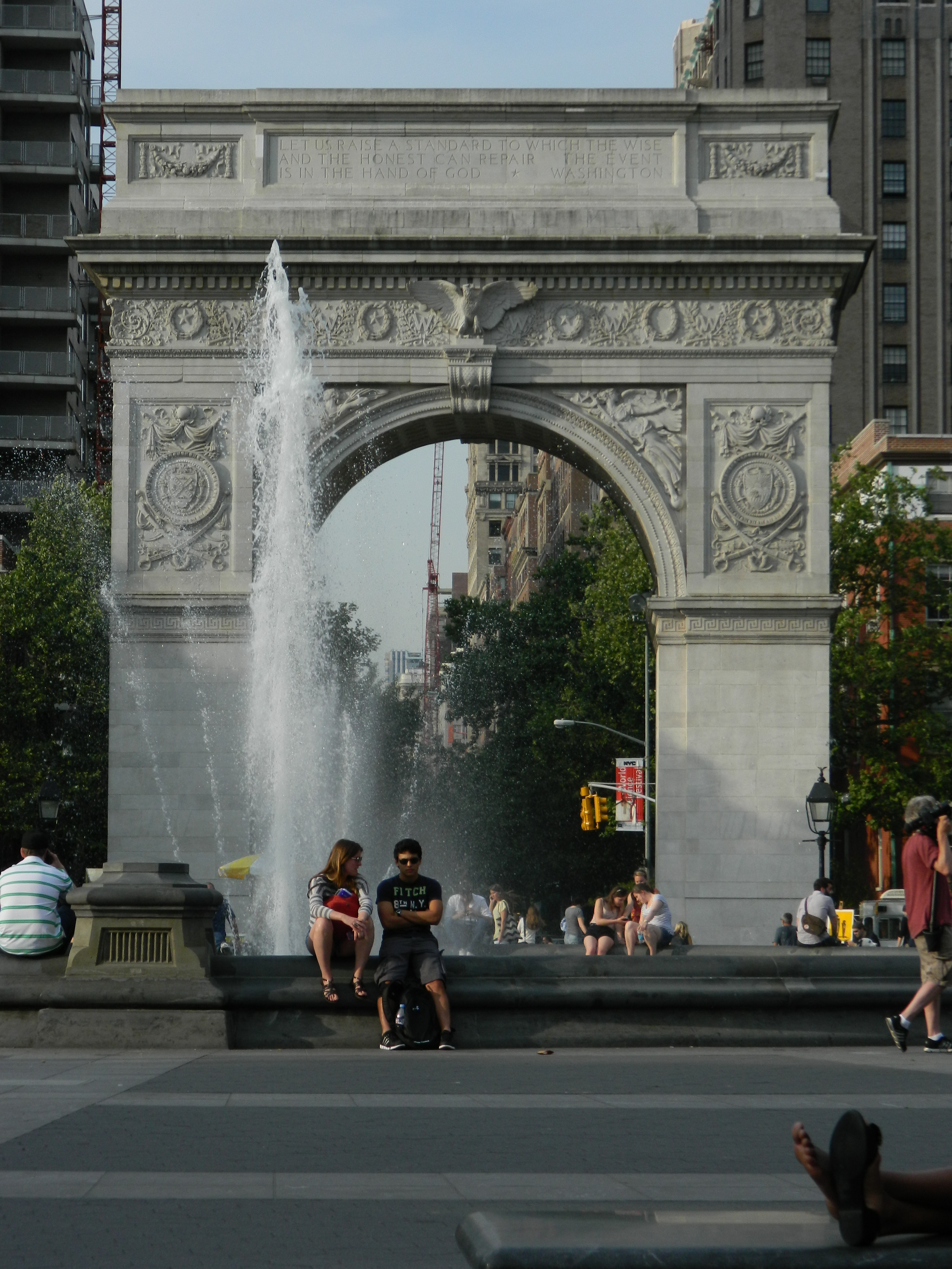 Washington Square Park en el Greenwich Village de Nueva York - Foto Nueva York Digital
