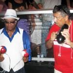 "La Afro Cuban Jazz Big Band de Chico O'Farrill plazoleta del Lincoln Center 'Midsummer Night Swing"" (Foto Nabuco)"