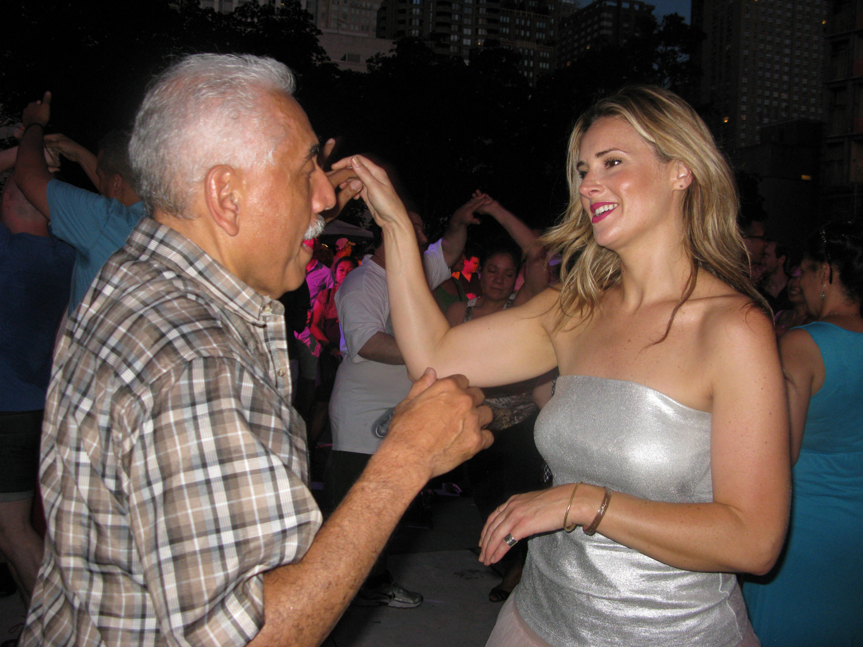 Noche de baile en el Lincoln Center