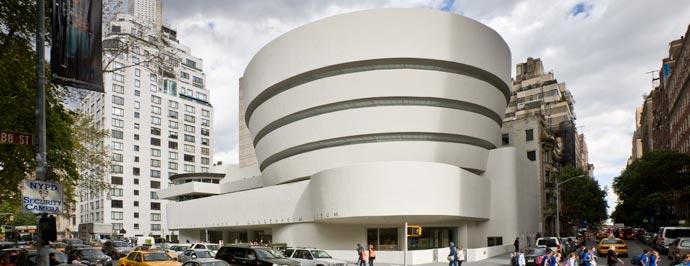 Percepción, luz, color y espacio en El Guggenheim
