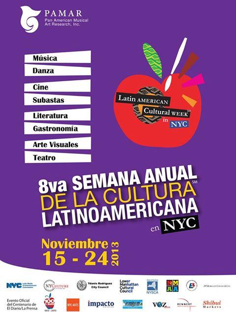 Encuentro literario en semana cultural latinoamericana
