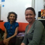 Myrna Nieves y Tanya Torres