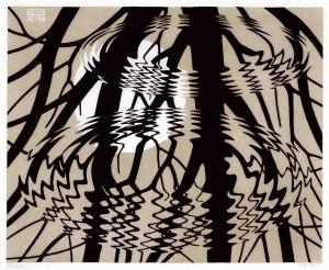 Ilustración E.C.Escher