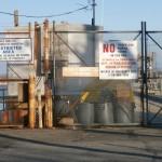 Muelle de embarque para los camiones de la morgue que parten rumbo a Hart island - Foto Nueva York Digital