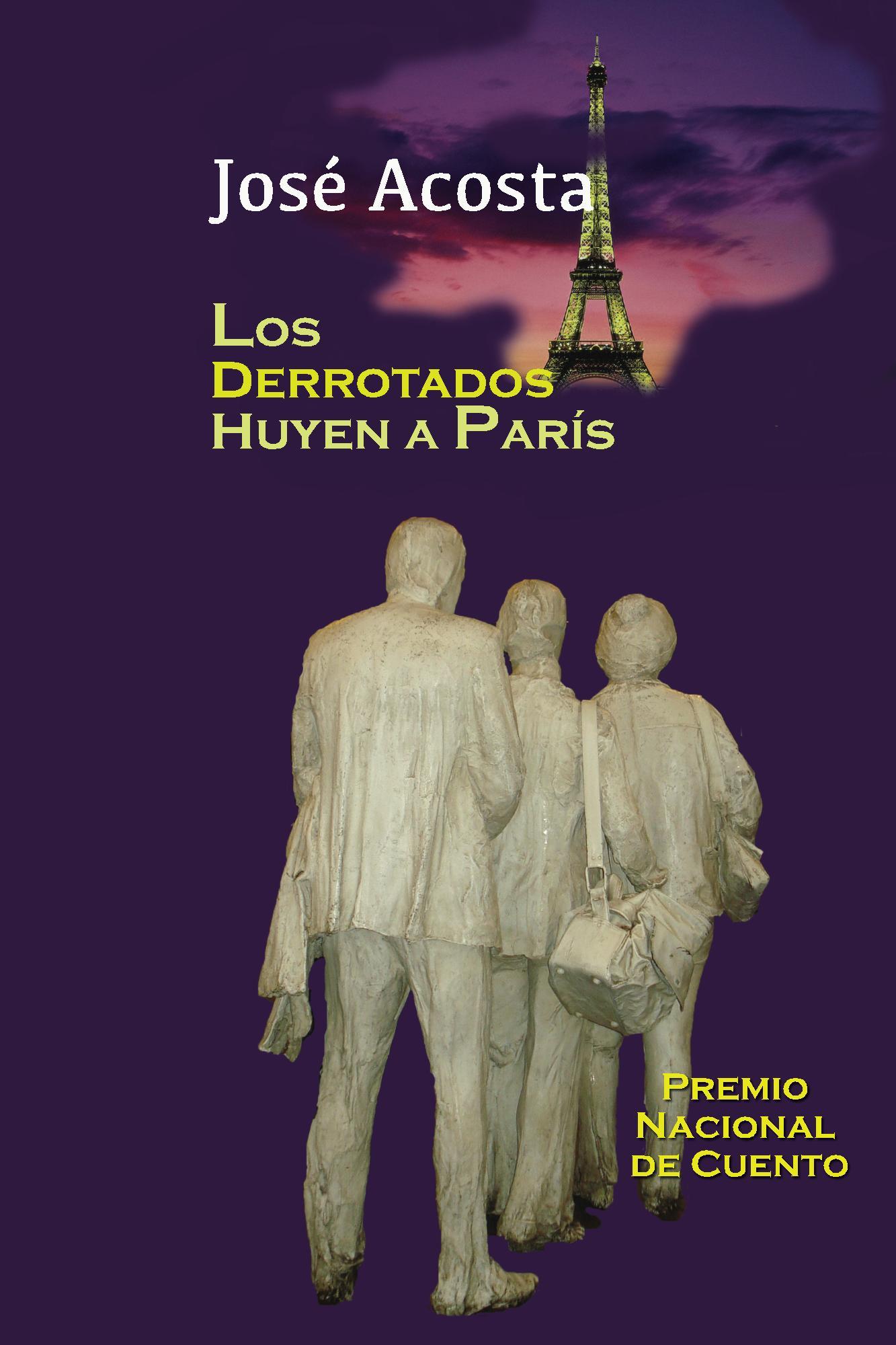 Publican  libro de cuentos Los derrotados huyen a París