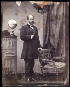: Federico Errázuriz Zañartu (1825-1877). Colección: Biblioteca Nacional de Chile. Disponible en Memoria Chilena. Sin fecha.