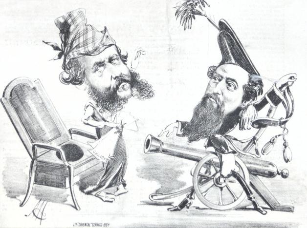 El pelo facial y el poder del criollo en América Austral pos-independencia