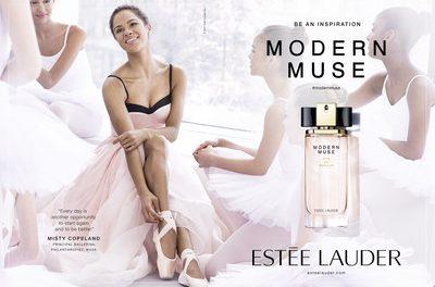 Estée Lauder nombra a Misty Copeland como modelo